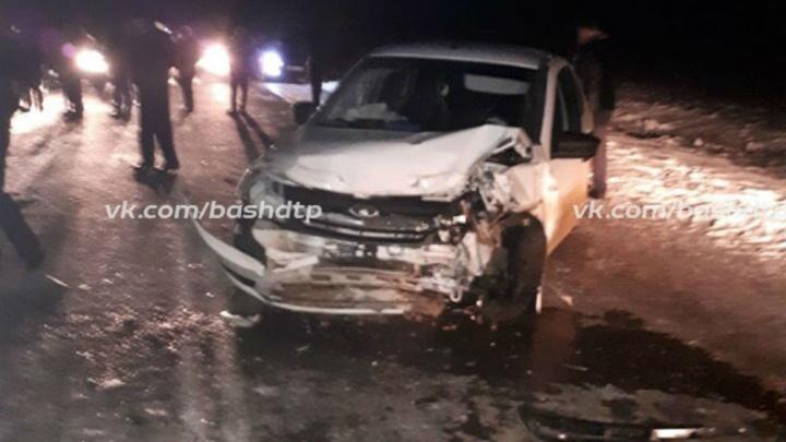Пьяный водитель устроил страшное ДТП на трассе в Башкирии