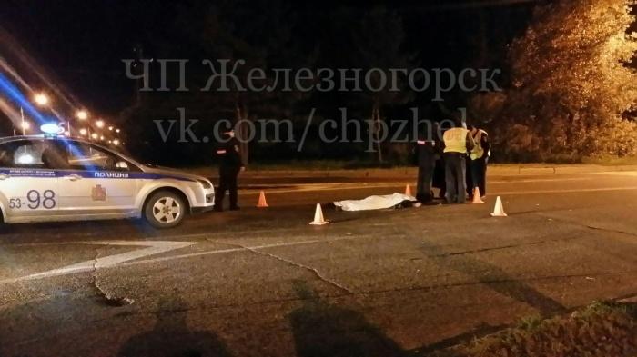Мужчина-пешеход скончался на месте аварии