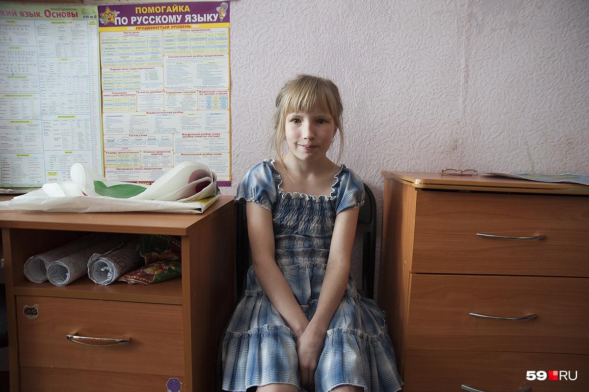 Настя — самостоятельная девушка, хоть и немного ленивая