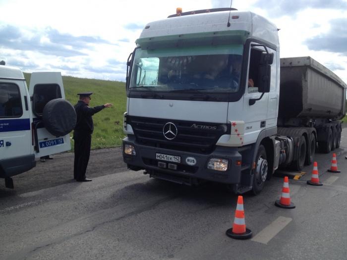 В Кемеровской области фурам запретили ездить в жару