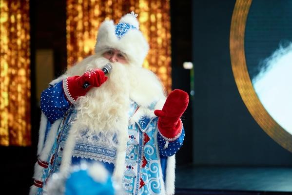 Стаж Ивана Лебедева в роли новогоднего волшебника — уже тридцать лет