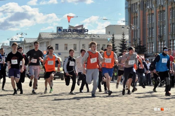Летом и осенью разные забеги проходят в Екатеринбурге почти каждую неделю