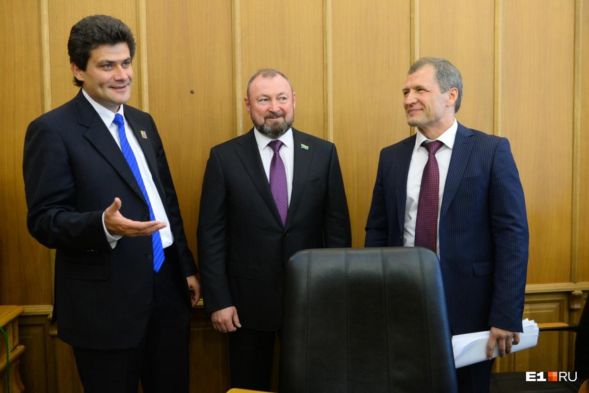Всего восемь месяцев назад депутаты единогласно избрали Высокинского, а сегодня отказались принимать поправки в бюджет
