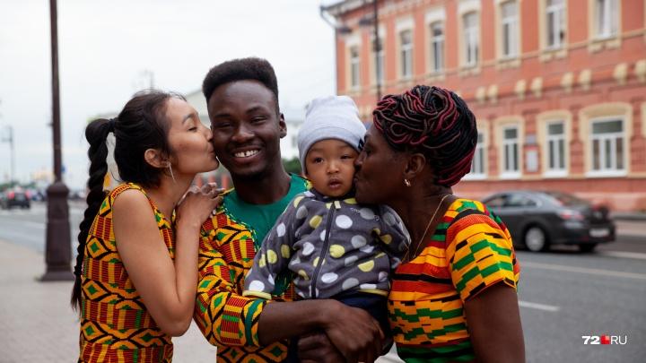 Жених из Африки. История любви тюменской студентки и парня из Ганы (родители были против их свадьбы)