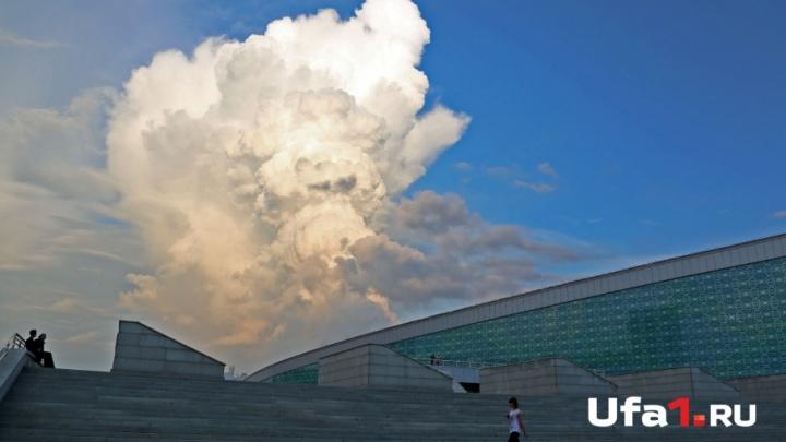 Вечером в Уфе прогнозируют небольшой дождь