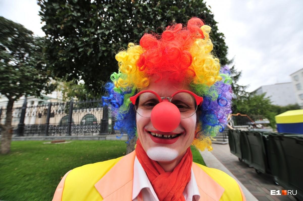 1 июня детей будут развлекать клоуны