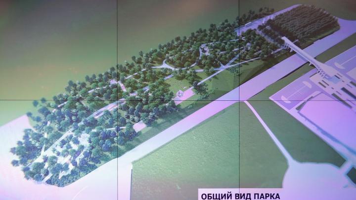 Напротив музея «Самбекские высоты» в 2019 году появится парк за 100 миллионов рублей