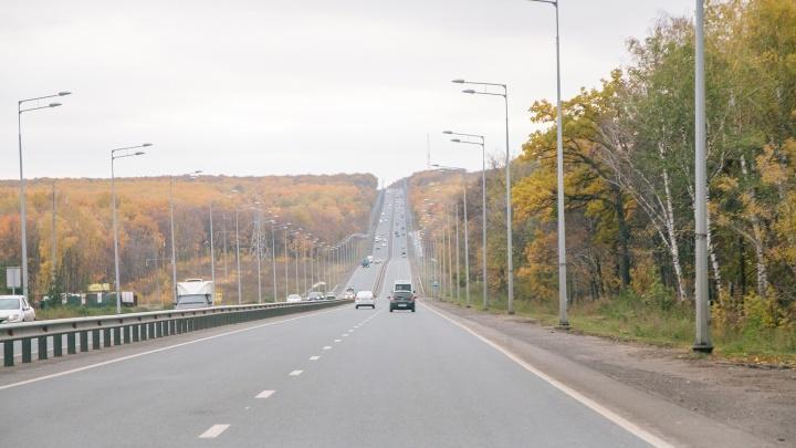 В Самаре перекрыли Красноглинское шоссе