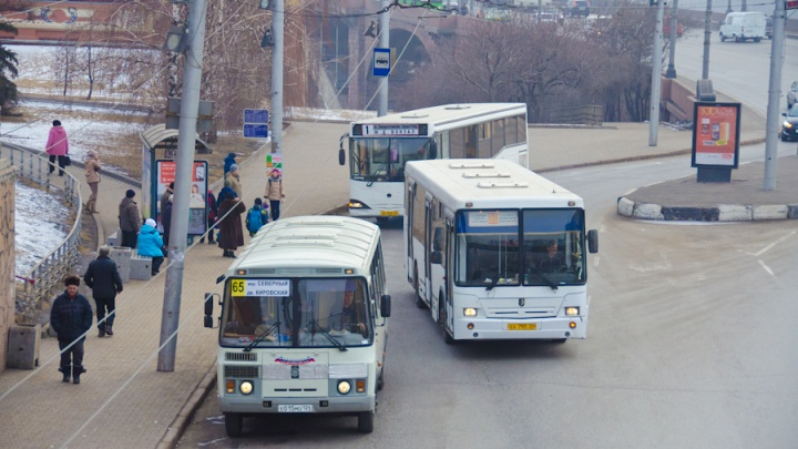 В Красноярске отказали сервисы о времени прибытия маршруток на остановки