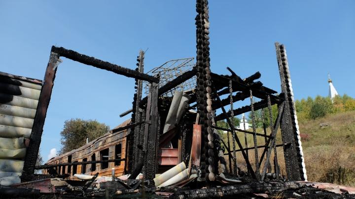 Версия: пожар в прикамском монастыре произошел из-за взрыва газового баллона
