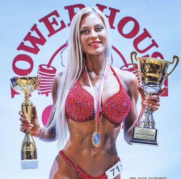 У Анны много спортивных наград