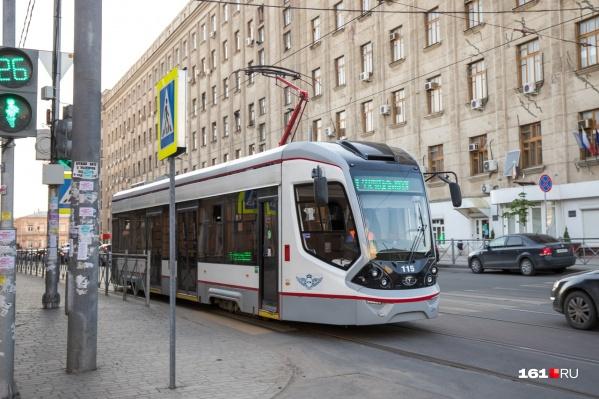Власти обещают, что в Ростове появится две ветки скоростного трамвая