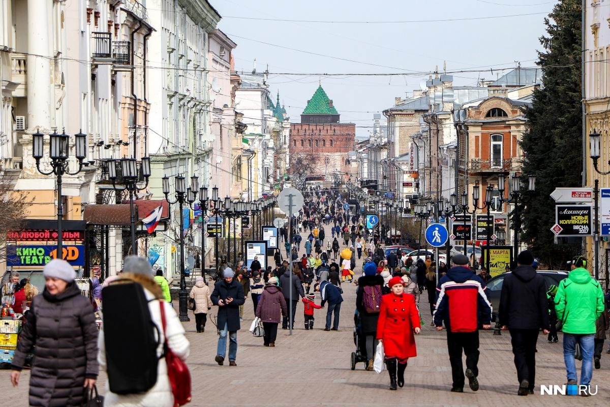 В Нижегородской области рост средней зарплаты составил 6,6%