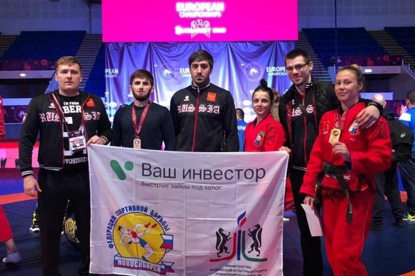 Команда из Новосибирска ежегодно становится лидерами чемпионата Европы по грепплингу