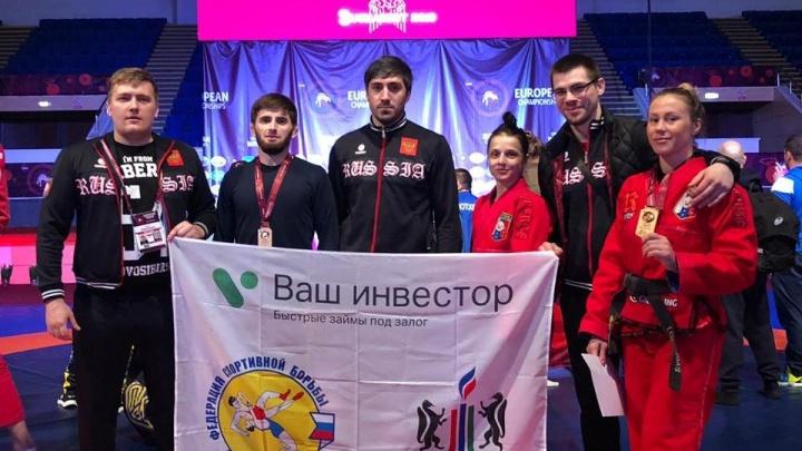 Сибиряки в кимоно и обтягивающих майках выиграли 6 медалей на чемпионате в Бухаресте