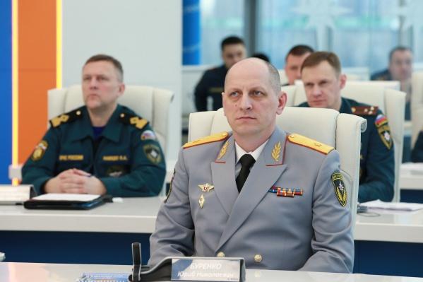 Юрий Буренко был назначен руководителем ГУ МЧС по Челябинской области в 2013 году