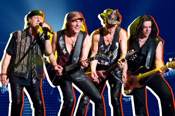 Scorpions приехали в Екатеринбург, чтобы дать грандиозный концерт