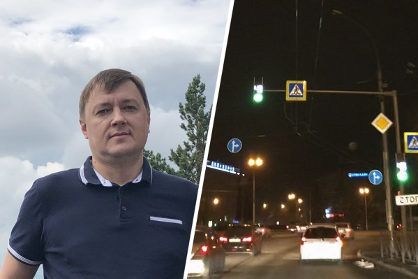 Новосибирец борется за нормальное освещение пешеходных переходов. По его мнению, многие из них сейчас опасны для горожан