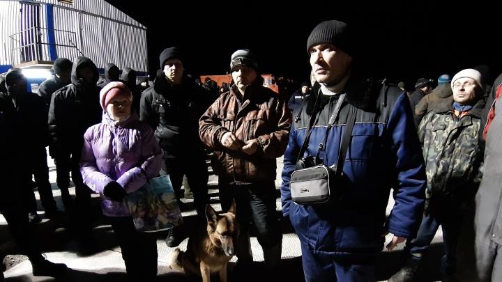 «Гуляния» в Шиесе: ночью на станцию прорвались активисты из Поморья и Коми