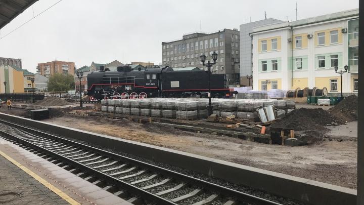 РЖД оштрафовали на полмиллиона за незаконную реконструкцию привокзальной площади
