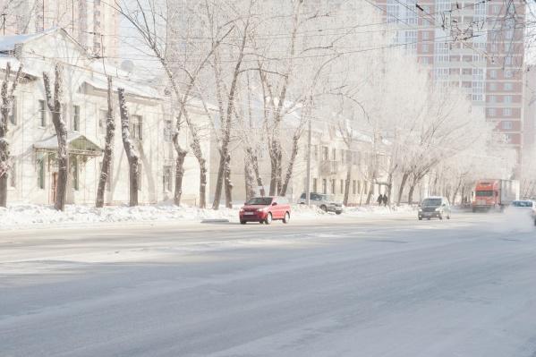 В конце недели Новосибирск накроют морозные туманы