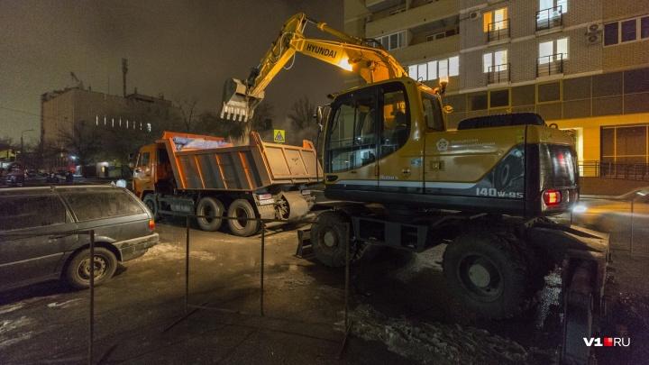 Порыв на магистрали: Ворошиловский район в ночь остался без тепла