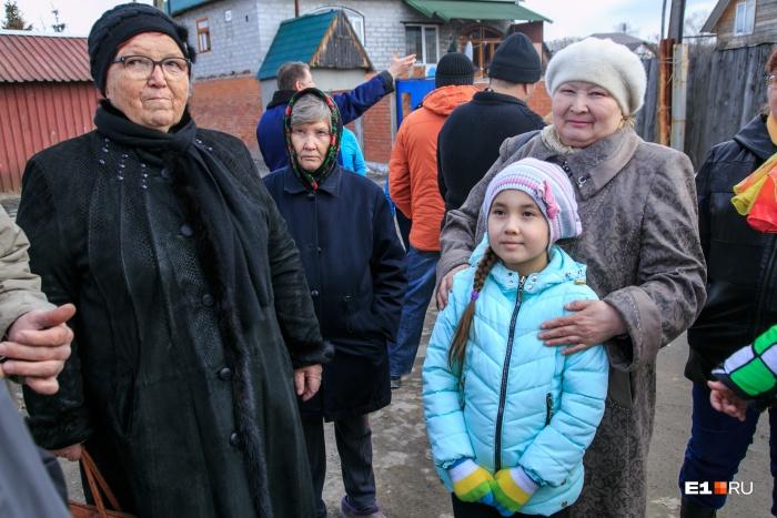 Дома перешли людям по наследству еще от бабушек и дедушек