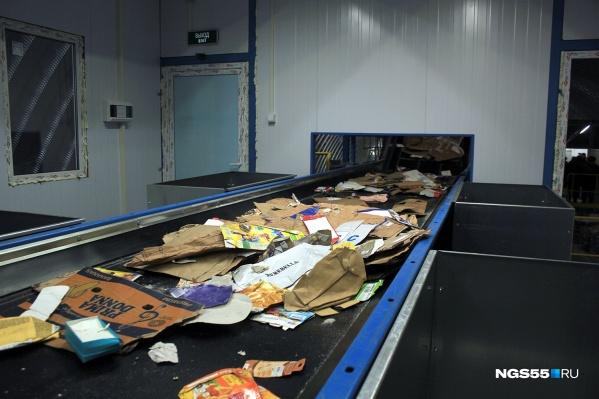 Комплекс в Кировском округе — единственное место в городе, где сортируют отходы