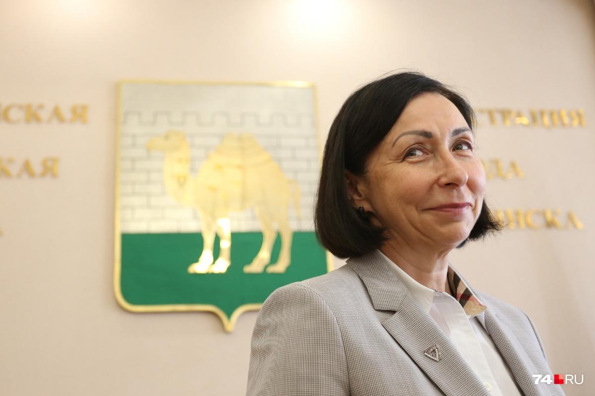 Наталья Котова — первая в истории Челябинска женщина-градоначальник, хоть и с приставкой «и.о.»