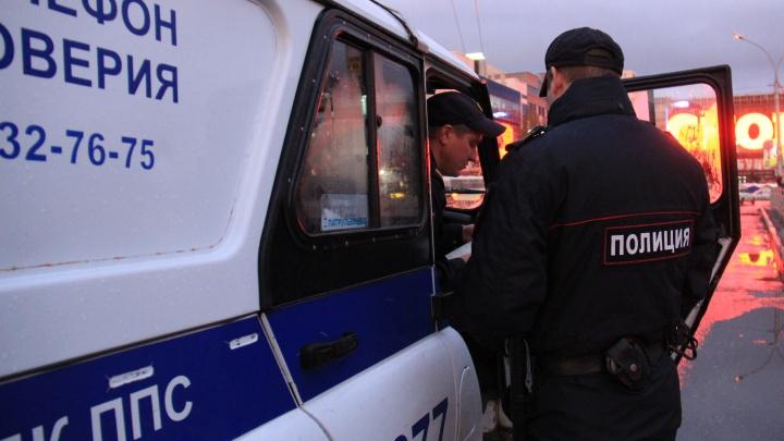 На убегавшего от погони водителя «Мерседеса» составили два протокола