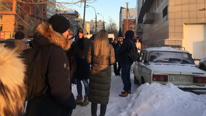 Из офисного здания в тихом центре эвакуировали работников