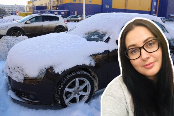 Audi A4 нашли на стоянке возле гипермаркета в спальном районе Ярославля