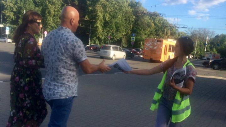 В Ярославле начался бессрочный антимусорный протест
