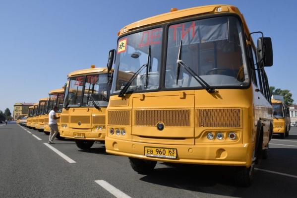 Транспорт уже подготовили к перевозке маленьких пассажиров