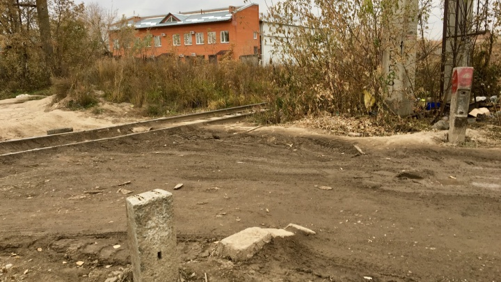 Жители «Родников» проложили нелегальную дорогу в центр Новосибирска