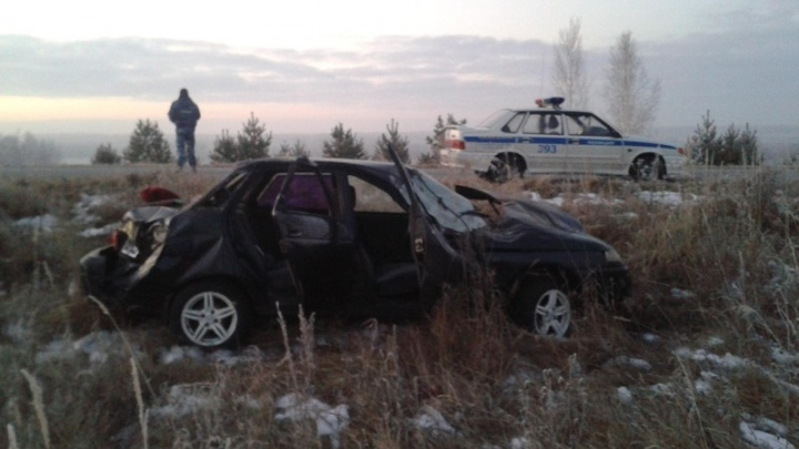 Не пристегнуты и без прав: в аварии в Куртамышском районе погиб мужчина