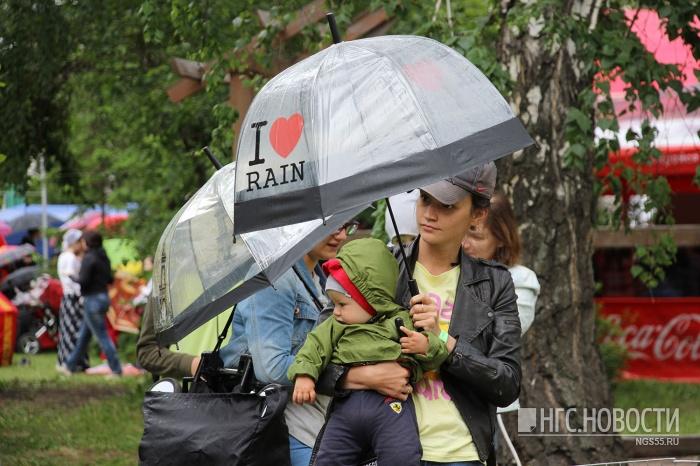 Омские синоптики объявили штормовое предупреждение на27 и28июля