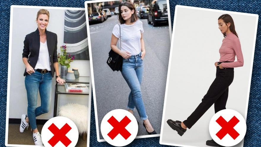 Мимо денима: 14 ошибок в ношении джинсов, которые делают все