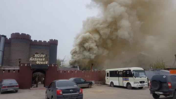 Дымом заволокло Алма-Атинскую и Московское шоссе: что горело на окраине Самары