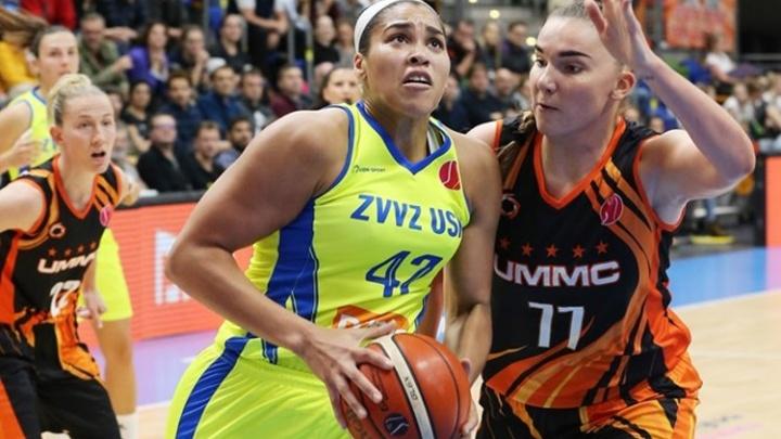 Четвертая победа в четырех играх: баскетболистки УГМК одержали верх над чешской «Прагой»