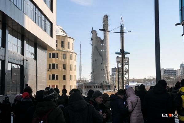Телебашню взорвали 24 марта