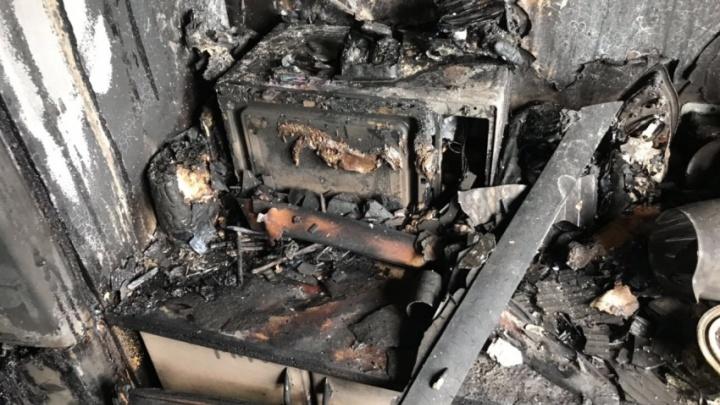 «Очаг возгорания был на кухне»: в ночном пожаре в Северодвинске погиб трёхлетний мальчик