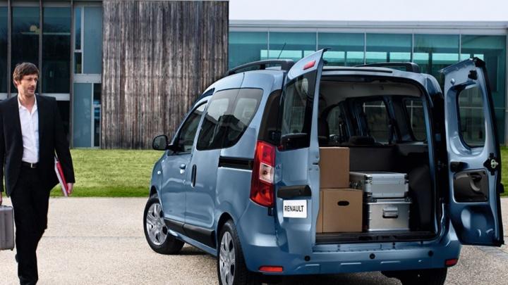Renault DOKKER — автомобиль для большой семьи или для коммерсантов-предпринимателей?