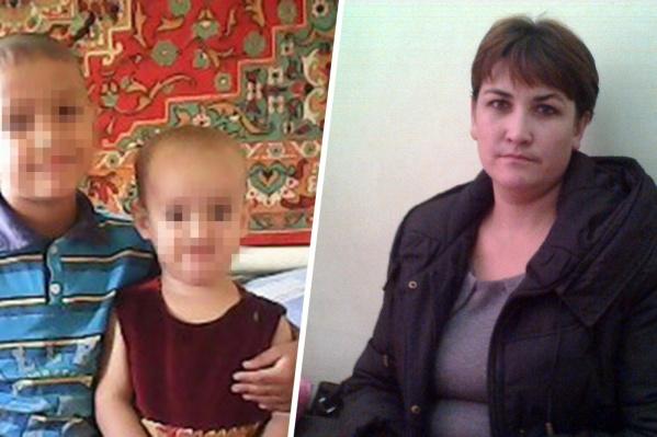 30-летняя мать в одиночку воспитывала двоих детей