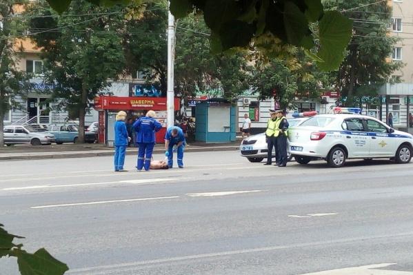Из-за буйного уфимца пришлось перекрывать одну из главных улиц города