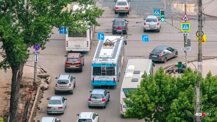 В ТТУ Самары рассказали, как будет курсировать троллейбус № 6