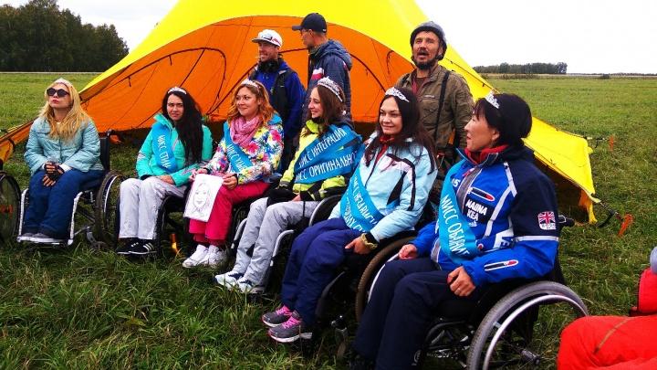 Красавицы на инвалидных колясках пролетели над Бердском
