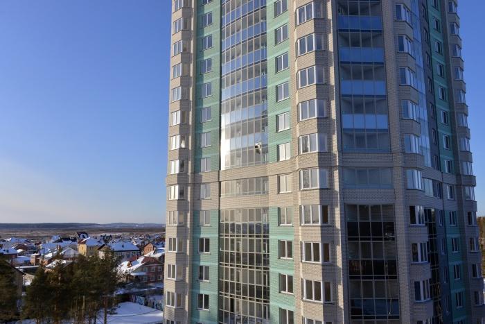 Строительство всех жилых комплексов ведётся активно