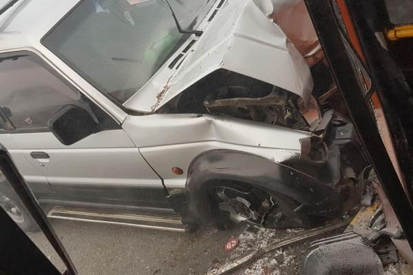 В ДТП пострадали несколько автомобилей