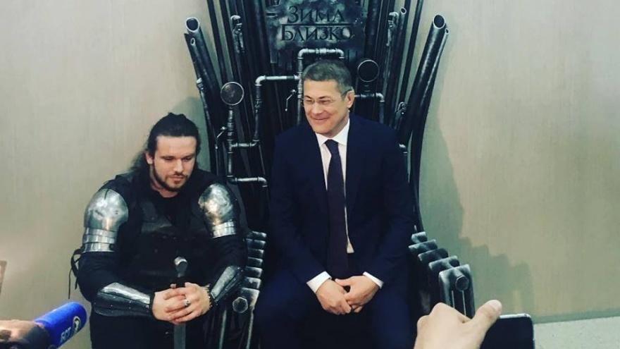 Зима близко: Радий Хабиров занял Железный трон